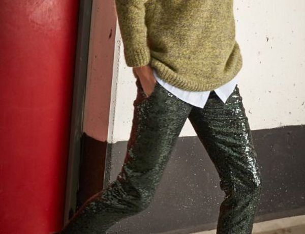 N-21-sequin-pants-matched-with-lime-green-shoes-and-jumper