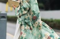 How to style an embroidered statement floral coat