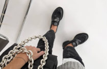 How to style chunky loafers (video)